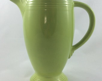 Coffee Pot Chartreuse (no lid) Vintage Fiesta Ware Pottery