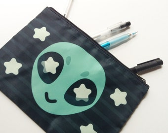 Alien Zipper Bag