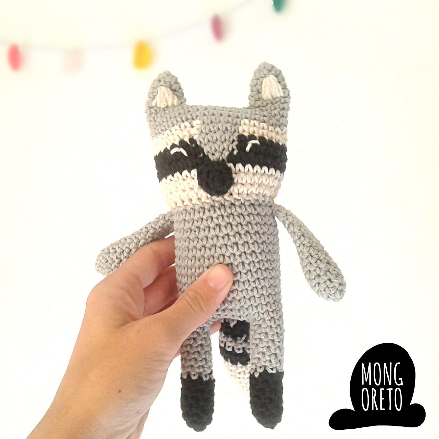 Amigurumi Raccoon : Amigurumi raccoon pattern