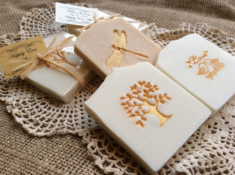 Favors Wedding Favors: 30 Gold Accented Wedding Favor Soap Bridal Shower Favors