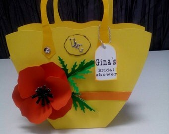 Paper purse gift bag
