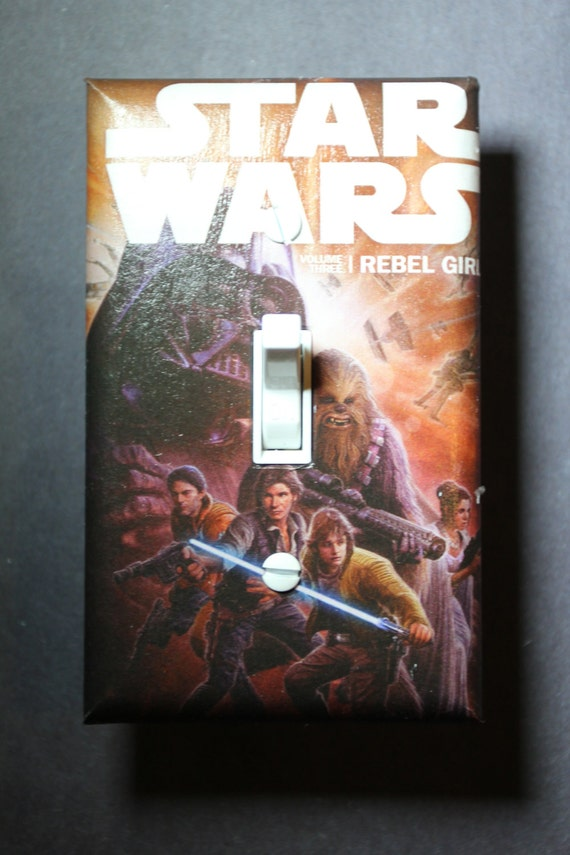 Star Wars Light Switch Plate Cover Bedroom Room By
