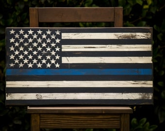 American Flag - The Thin Blue Line
