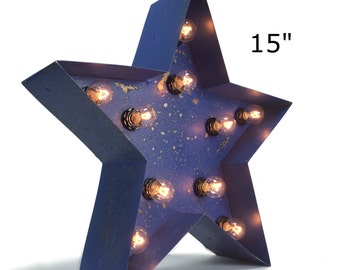 "15"" or 24"" Marquee Star"
