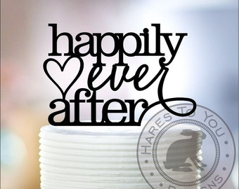 Happily Ever After Wedding Cake Topper 12-203