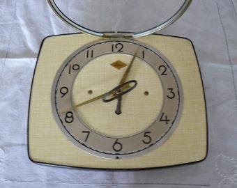 "Clock ""vintage"" formica"