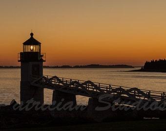 Lighthouse: Marshall Point Head, I, Port Clyde, Maine