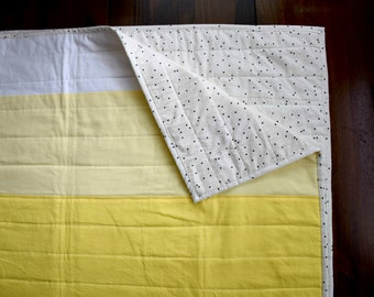 The Brighten Up Quilt - Modern Ombre Quilt