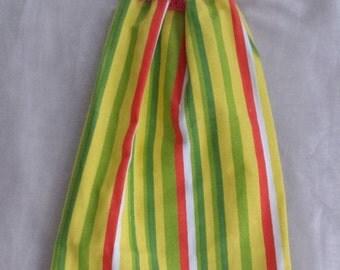 Crochet Kitchen Towel,Citrus Stripe KitchenTowel,KitchenTowel,Yellow Green Orange Towel,Kitchen Gift,Wedding Gift,Crochet Gift,Ready To Ship
