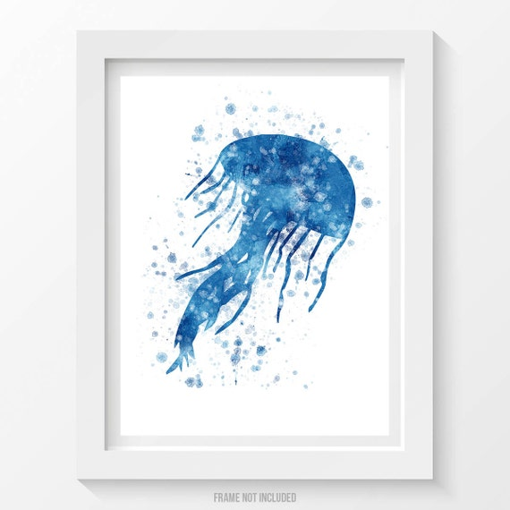 Jellyfish Poster Jellyfish Print Jellyfish Decor By Agedpixel Home Decorators Catalog Best Ideas of Home Decor and Design [homedecoratorscatalog.us]