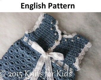 Crochet Patterns In English : English Crochet Pattern Bolero 0-18 months by ...