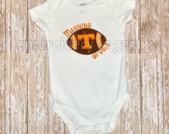 Tiny Fan Tennessee Vols infant bodysuit