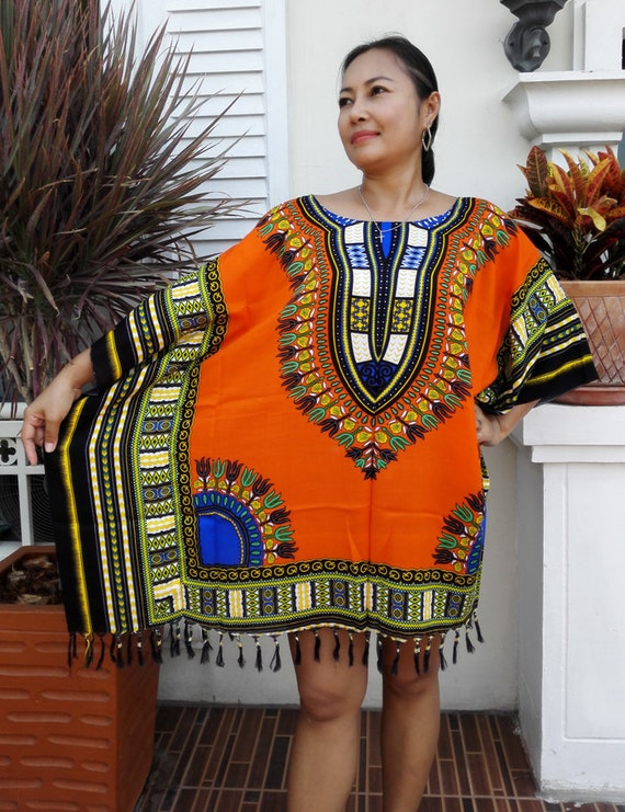 le poncho africaine dashiki robe nouveau pour elle chemisier. Black Bedroom Furniture Sets. Home Design Ideas
