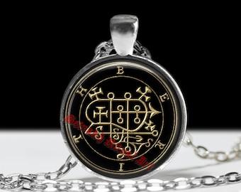 28 BERITH demon seal pendant, Goetia sigil necklace, Lemegeton, Lesser Key of Solomon, occult, summoning demons ritual amulet #104.28