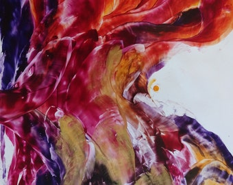 Flow series painting Change A1