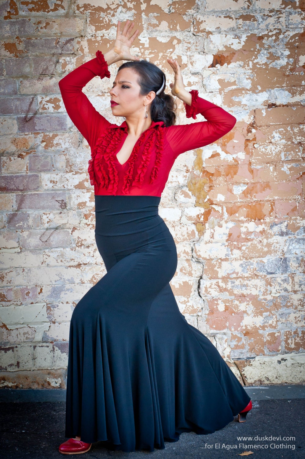 Image result for fishtail skirt flamenco