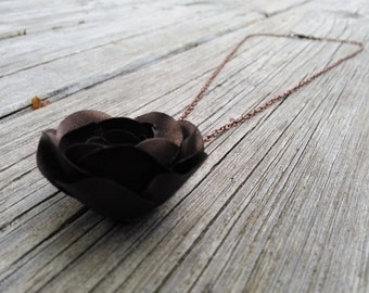 Paper Flower Necklace