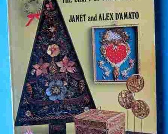 1975 QUILLWORK The Craft Of Paper Filigree Janet and Alex D'Amato Vintage Craft
