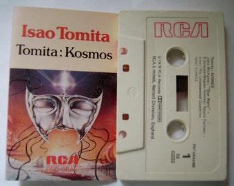 1978 ISAO TOMITA Tomita: Kosmos Japanese Ambient ELECTRONIC Music Cassette Tape Hard To Find Rare