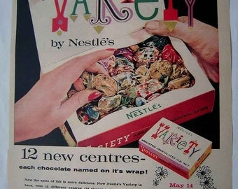 Nestle Chocolate Etsy