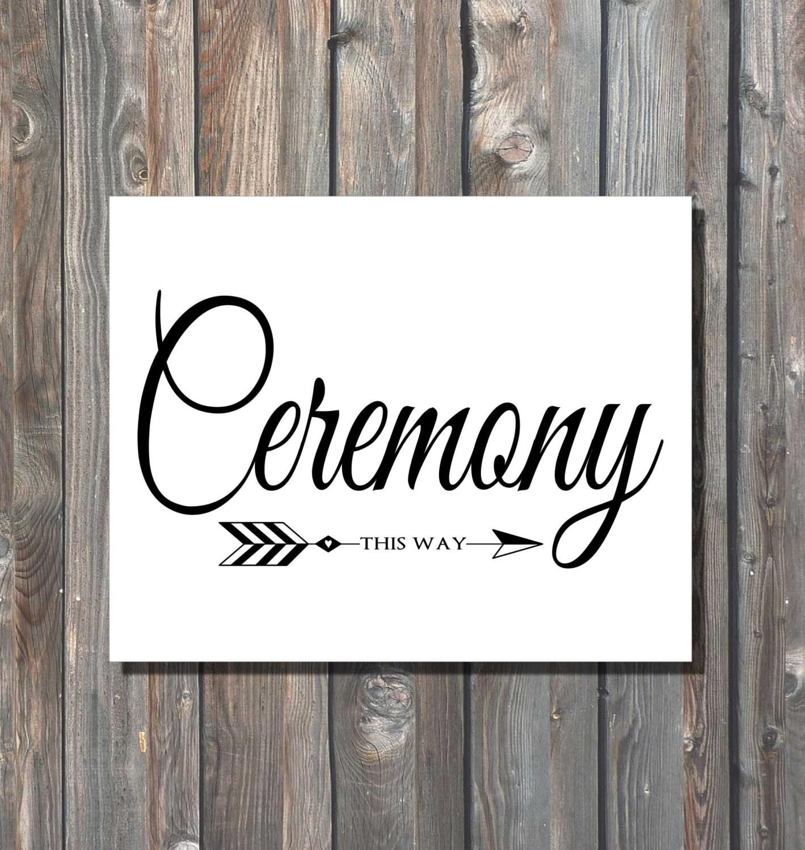 wedding ceremony order of procession