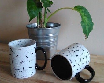 Double Trouble Handpainted EL-AICH Mug Duo