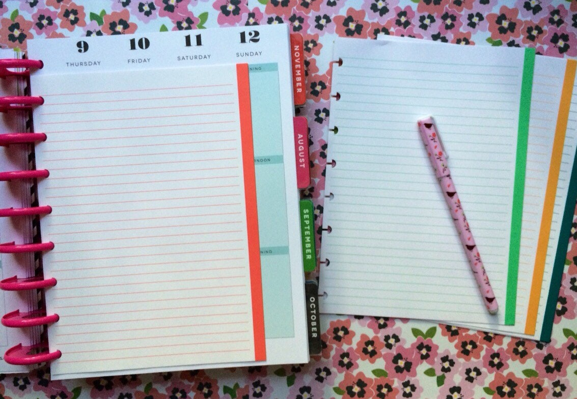 Happy planner note paper happy planner accessories by for Happy planner accessories