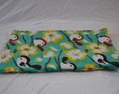 """Guinea Pig Lounge Pad (Reversible) - 11"""" x 18"""" in Birds Fleece"""