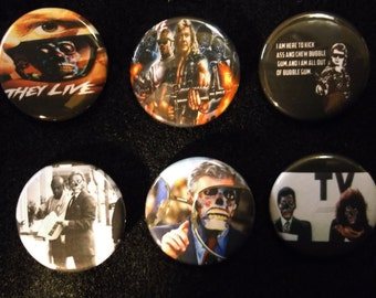 They Live - Button 6-pack