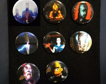 Hellraiser - button 8-pack