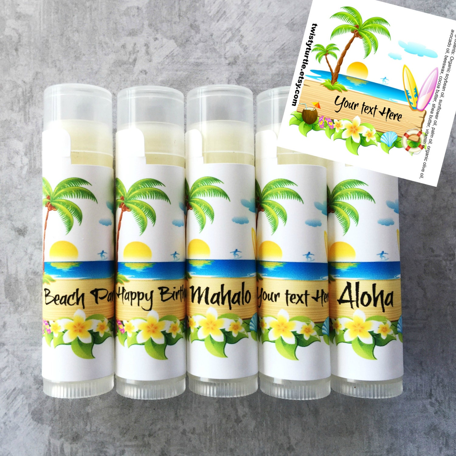 Luau Party Giveaways