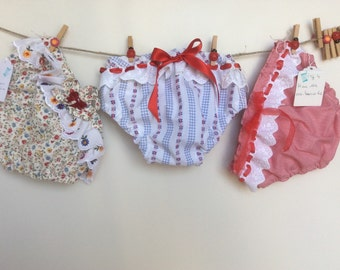 Cotton baby swimwear for four years old baby. Baby swimswear. Broderie anglaise baby swimswear.