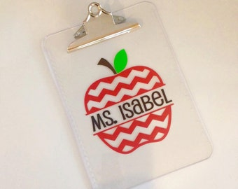 Personalized Clipboard for Teachers