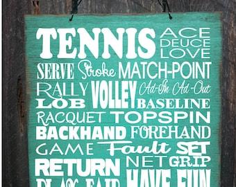 tennis, tennis decor, tennis decoration, tennis court sign, tennis sign, tennis court decoration, tennis player