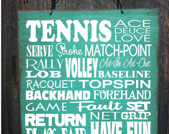 tennis, tennis decor, tennis decoration, tennis court sign, tennis sign, tennis court decoration, tennis player, 159