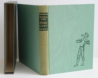 Peer Gynt by Henrik Ibsen - The Heritage Press 1957 - Vintage Book