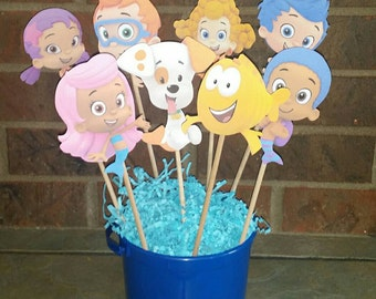 Bubble Guppies Centerpiece Character on a Stick