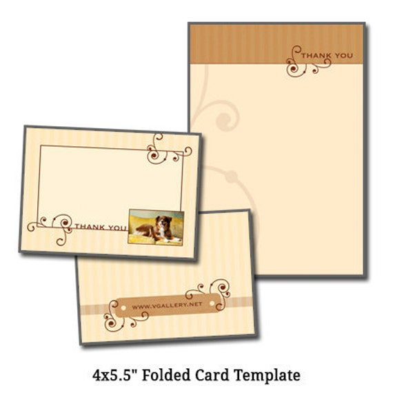 4x5 5 folded card template pet artcard 2 digital for Chambre 4x5 folding