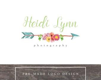 premade logo, premade logo design, custom logo, photography logo
