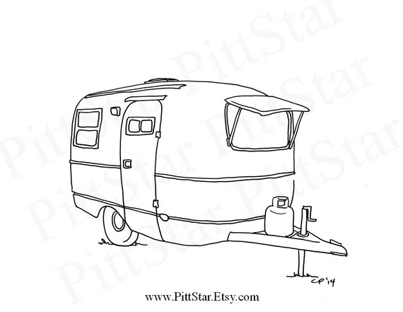 Innovative Dad And Family In Rv Coloring Page  Coloringcom