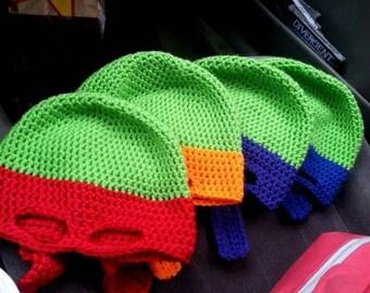 Adult Ninja Turtle Style Hats