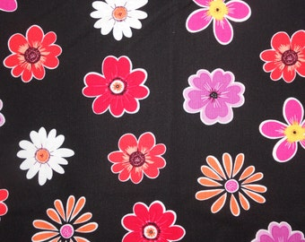 Kate's Garden.  Tossed Flowers.  Kate Knight for Quilting Treasures. Kate Knight.   2011 pattern.   2 yard remnant only.