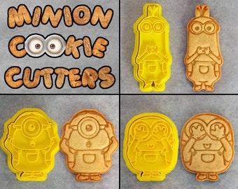 Minion Cookie Cutter Set