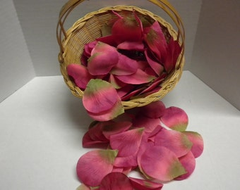 Wedding Petals-Silk Petals. Flower Petals, Fabric, Weddings, Receptions