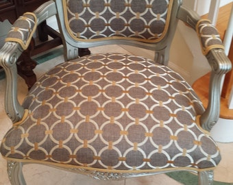 SOLD. French Louis XVII Accent Chair