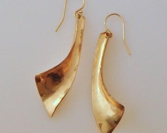 14K Gold-filled dangle earrings