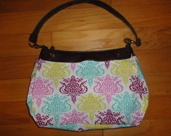 New Thirty-one Purse Beautiful Rainbow Medallions Purse Skirt for Suite Skirt Purse 31 Gifts