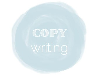 Writing Services: COPYWRITING up to 400 words