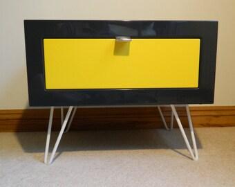 Bedside cabinet  bedside table Nightstand  Lounge Table--Genus