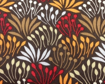 Dear Stella Woodwinked Grass Brown One Half Yard Cut and Yardage Available Stella 329